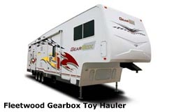 toy hauler 5th wheel