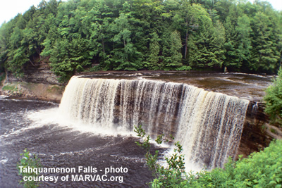 michigan falls picture