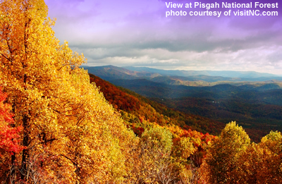 mount pisgah in the fall