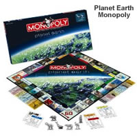 planet earth monopoly game picture