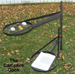 the campfire cook grill.