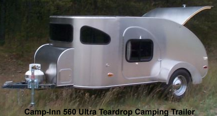 Camp-Inn 560 Ultra Teardrop Camping Trailer