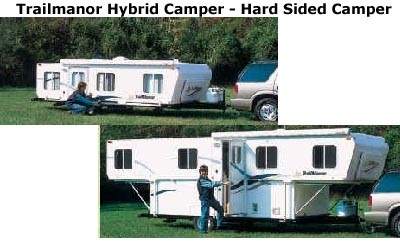 trailmanor hybrid camper