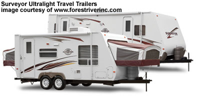 surveyor ultralight travel trailer