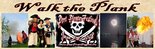 walk the plank banner